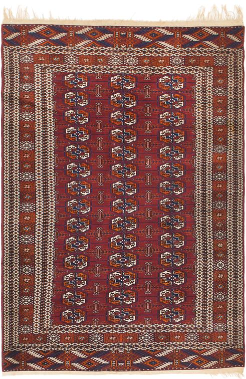Red 3 10 X 6 Bokhara Oriental Rug Oriental Rugs Irugs Uk