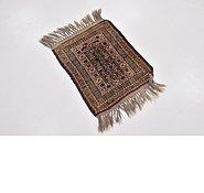 Link to 1' 7 x 2' Shiraz Persian Rug