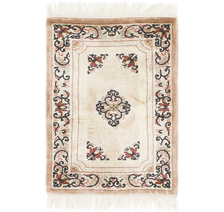60cm x 90cm Antique Finish Rug