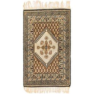 Unique Loom 3' x 5' 4 Moroccan Rug