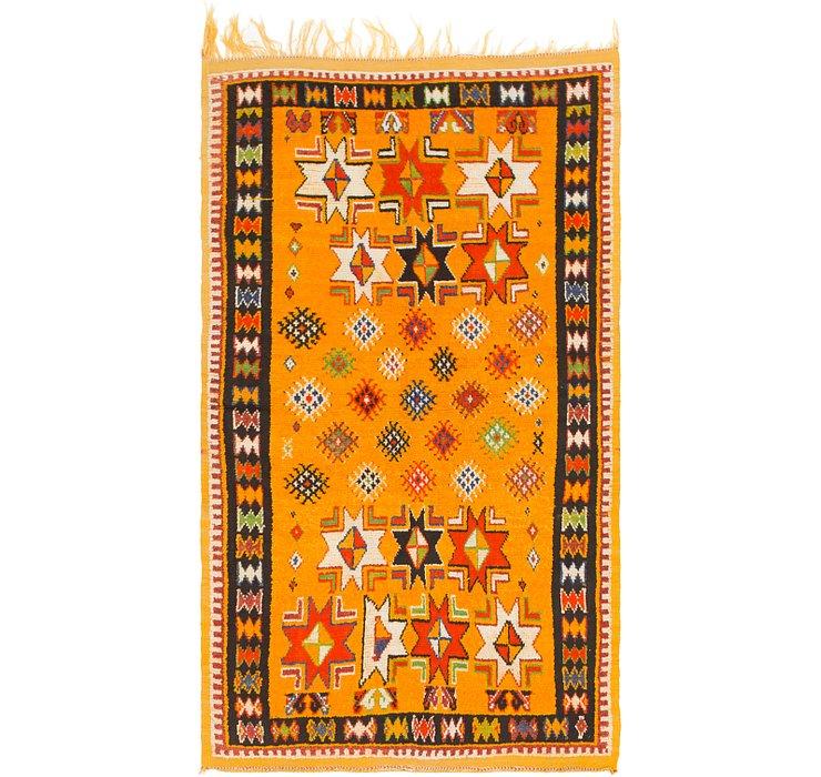4' 6 x 8' 4 Moroccan Rug