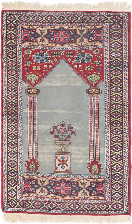 Light Blue 2 8 X 4 6 Lahour Oriental Rug Oriental Rugs Esalerugs