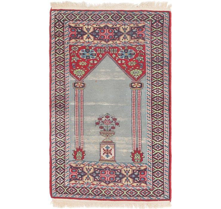 2' 8 x 4' 6 Lahour Oriental Rug