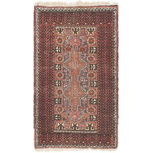 Link to 2' 8 x 4' 7 Balouch Persian Rug item page