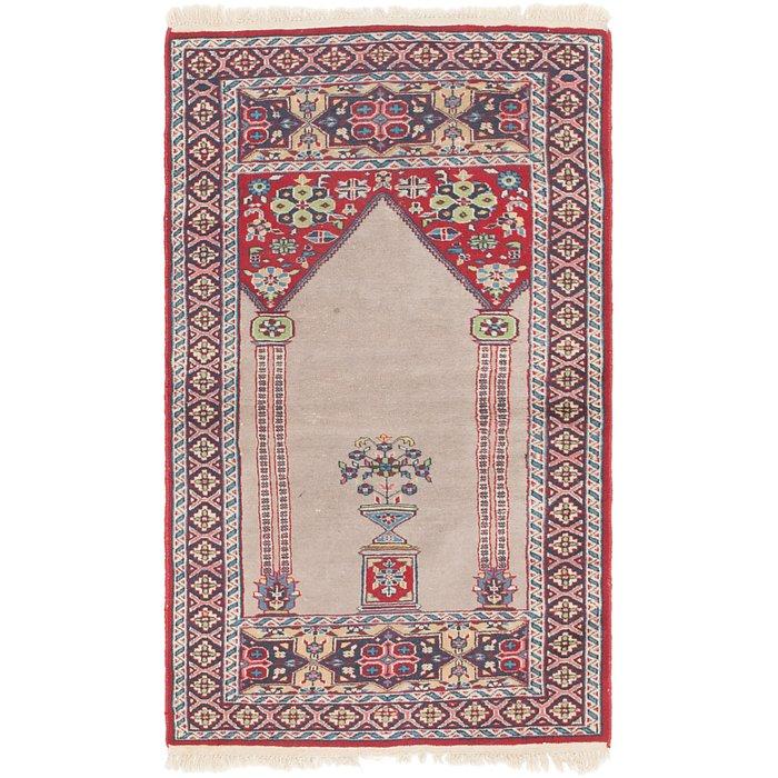 2' 7 x 4' 5 Lahour Oriental Rug
