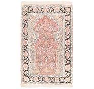 Link to 2' 7 x 4' 2 Kashmir Oriental Rug