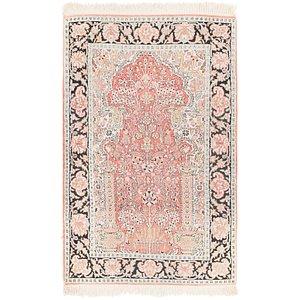 Unique Loom 2' 7 x 4' 2 Kashmir Oriental Rug