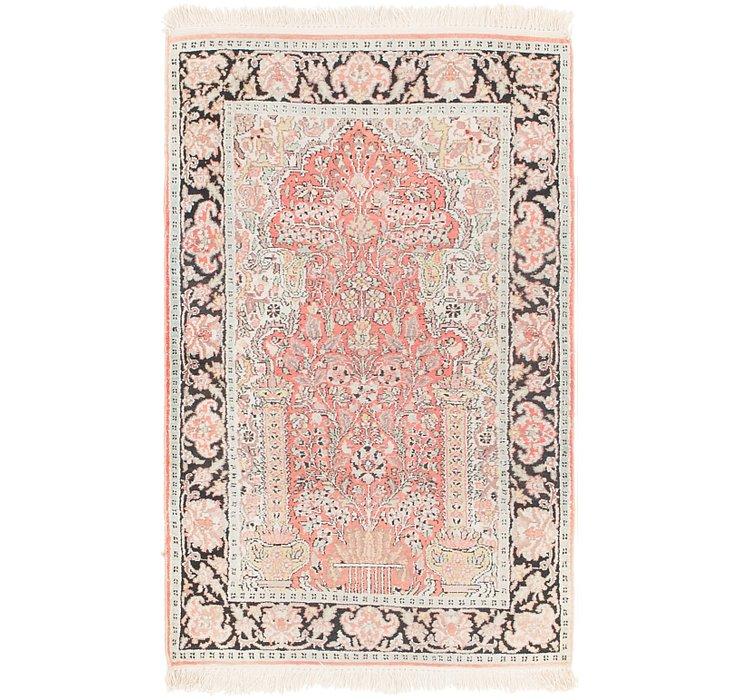 2' 7 x 4' 2 Kashmir Oriental Rug