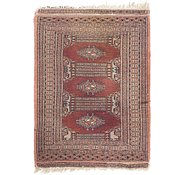 Link to 2' x 2' 10 Bokhara Oriental Rug