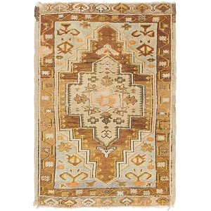 HandKnotted 1' 9 x 2' 8 Kars Oriental Rug