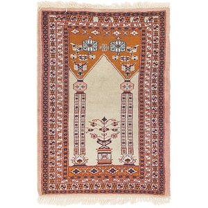 HandKnotted 2' x 3' Lahour Oriental Rug
