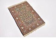 Link to 2' 2 x 3' Qom Persian Rug