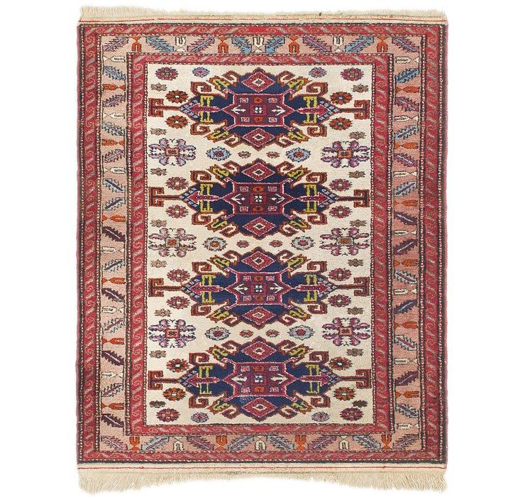 2' 10 x 3' 6 Gharajeh Persian Rug