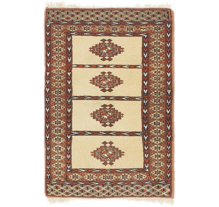 2' x 3' 2 Bokhara Oriental Rug