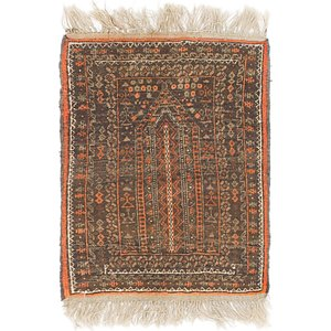Link to 1' 9 x 2' 4 Shiraz Persian Rug item page