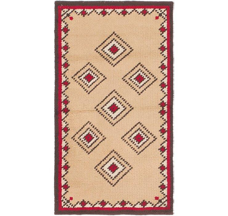 2' 7 x 4' 6 Moroccan Rug