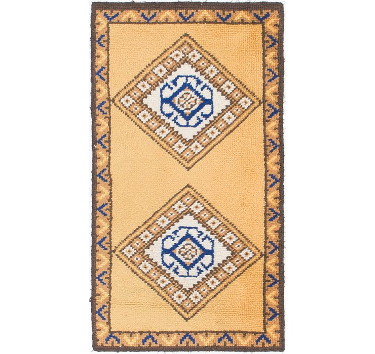 2' 3 x 4' 3 Moroccan Rug