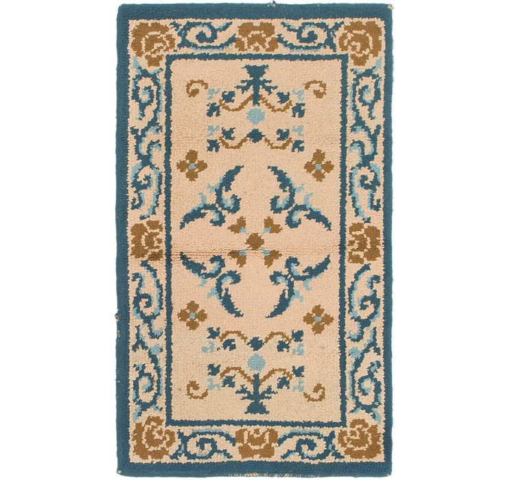 2' 5 x 4' 3 Moroccan Rug