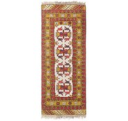Link to 1' 9 x 4' 7 Afghan Akhche Runner Rug