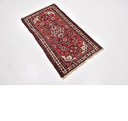 Link to 2' 3 x 4' 3 Hossainabad Persian Rug