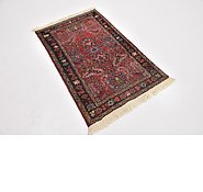 Link to 2' 7 x 4' Sarough Persian Rug