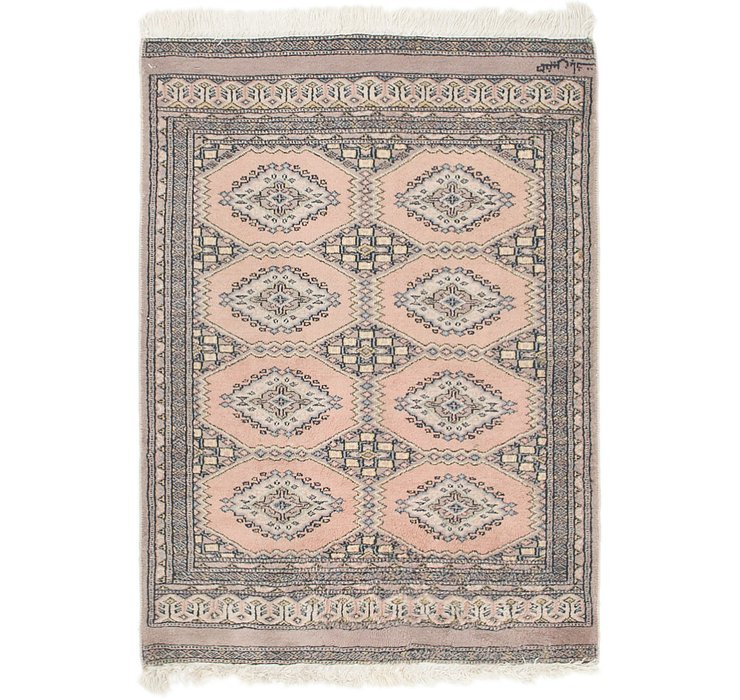 2' 7 x 3' 9 Bokhara Oriental Rug