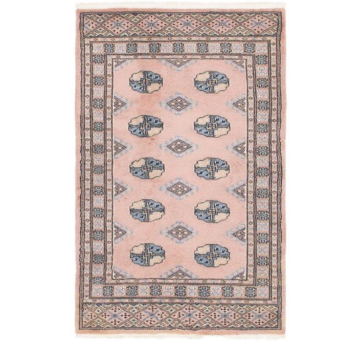 2' 6 x 4' 2 Bukhara Oriental Rug