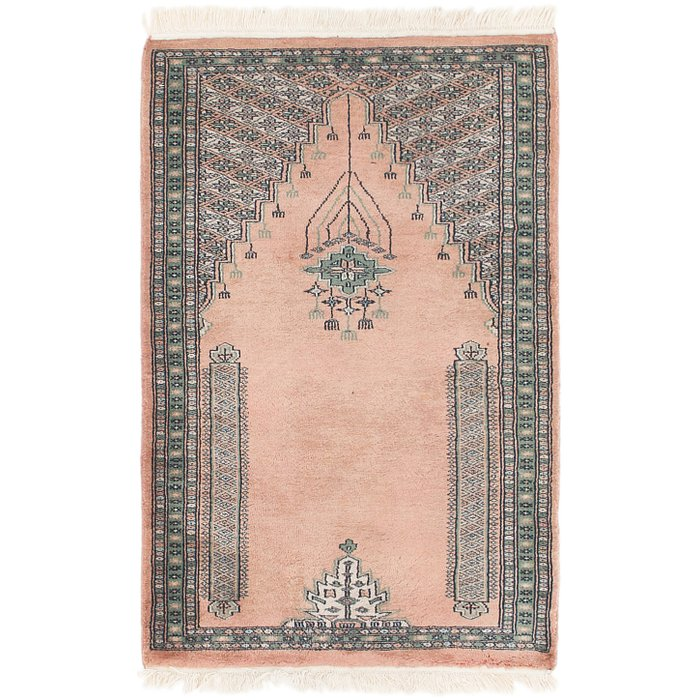 2' 7 x 4' Lahour Oriental Rug