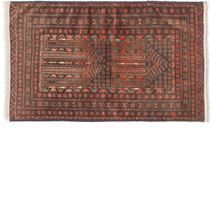 2' 8 x 4' 10 Balouch Persian Rug