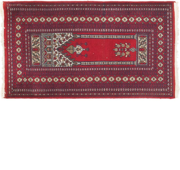 2' 7 x 4' 7 Lahour Oriental Rug