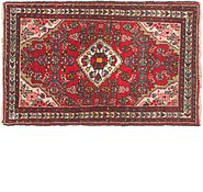 Link to 2' 6 x 4' Hossainabad Persian Rug