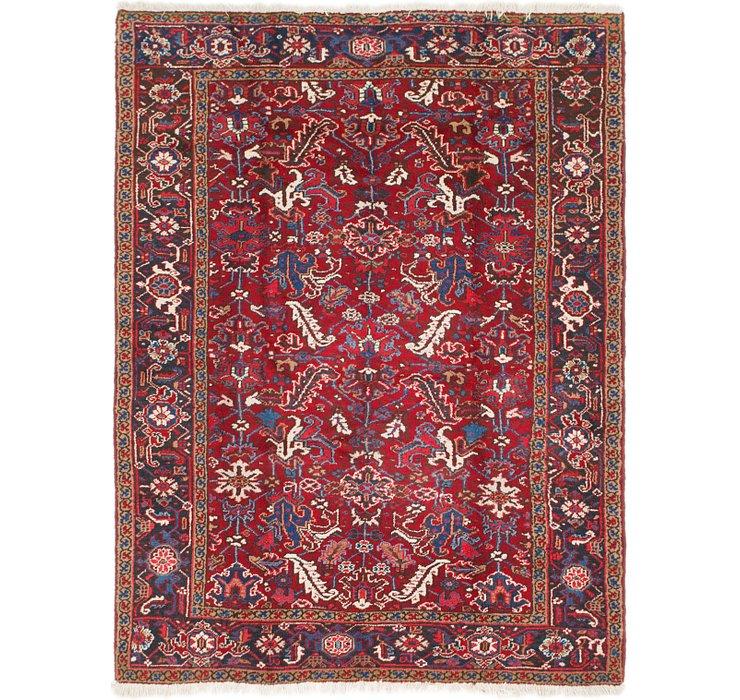6' 3 x 8' 7 Heriz Persian Rug