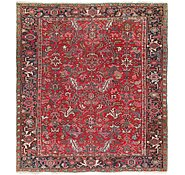 Link to 8' x 9' Heriz Persian Rug