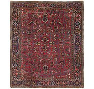 Link to 7' 4 x 8' 10 Heriz Persian Rug