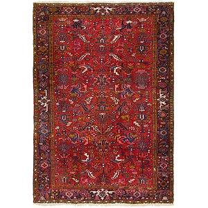 Link to 7' 9 x 11' 3 Heriz Persian Rug item page