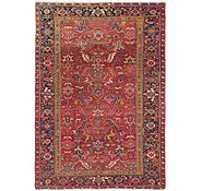 Link to 7' 10 x 11' 2 Heriz Persian Rug