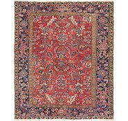 Link to 7' x 8' 4 Heriz Persian Rug