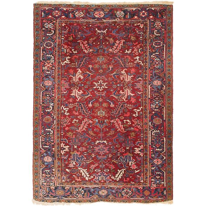 6' 8 x 9' 8 Heriz Persian Rug