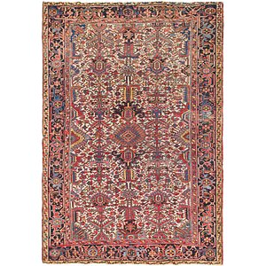 Link to 7' 4 x 10' 7 Heriz Persian Rug item page