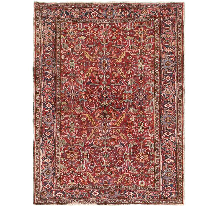 7' 10 x 10' 6 Heriz Persian Rug