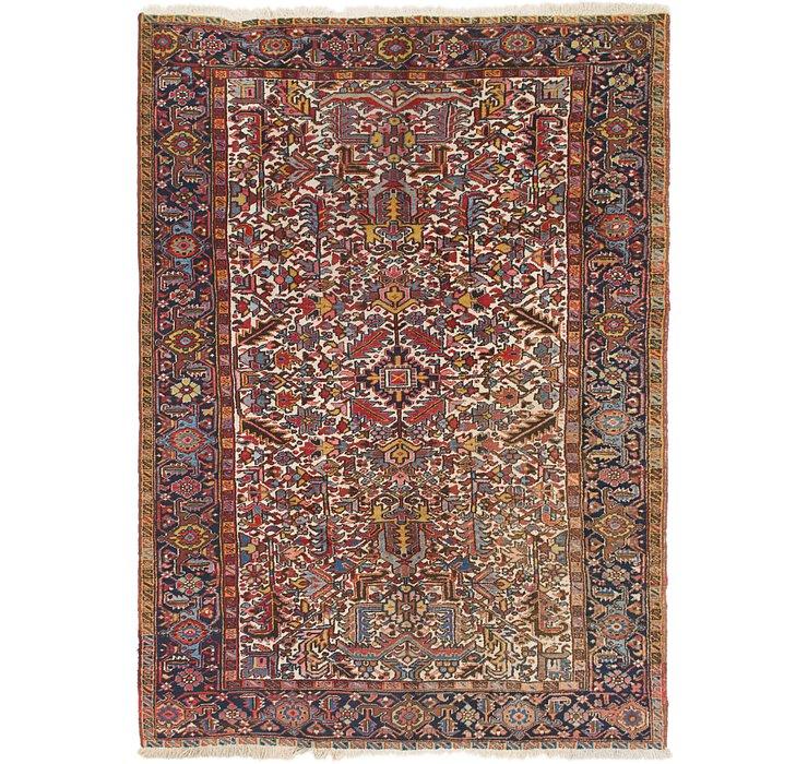 7' 6 x 10' 6 Heriz Persian Rug