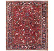 Link to 7' x 8' Heriz Persian Rug
