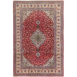 Unique Loom 7' 3 x 11' Kashan Persian Rug