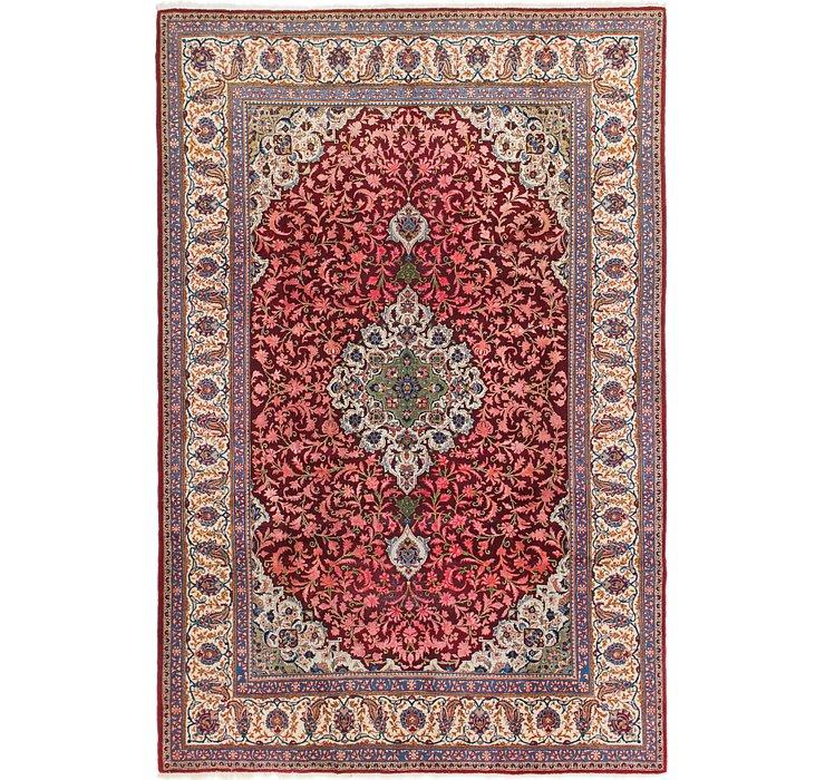 7' 3 x 11' Kashan Persian Rug