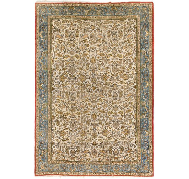 7' 3 x 10' 8 Qom Persian Rug