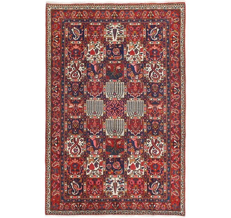 HandKnotted 7' x 10' 6 Bakhtiar Persian Rug