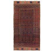 Link to 7' 2 x 13' Kilim Afghan Oriental Rug