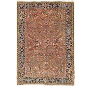 Link to 7' 7 x 10' 10 Heriz Persian Rug