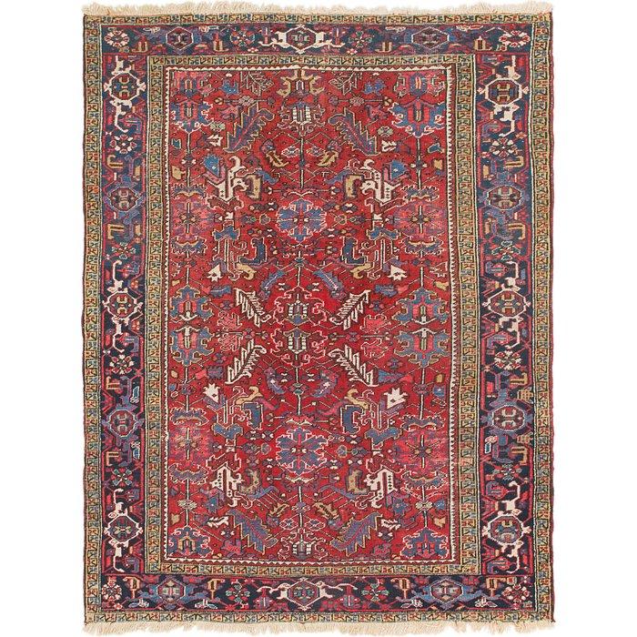 7' 2 x 9' 7 Heriz Persian Rug