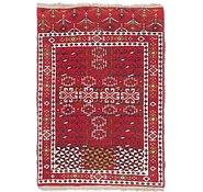 Link to 2' 7 x 3' 9 Afghan Akhche Rug